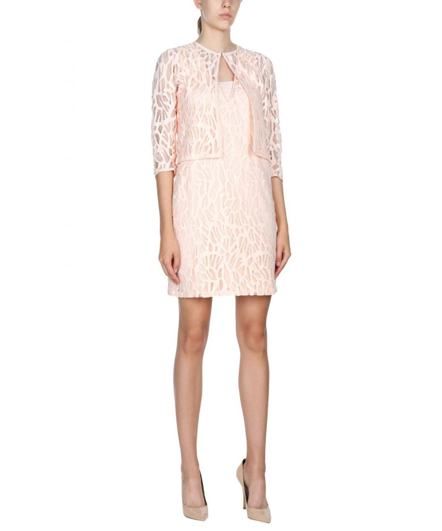 Image for Moschino Light Pink Lace Jacket