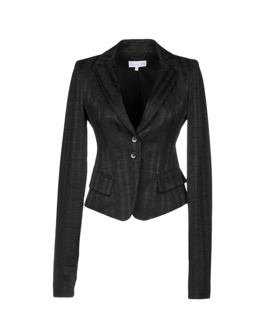 Image for Patrizia Pepe Black Cotton Jacket