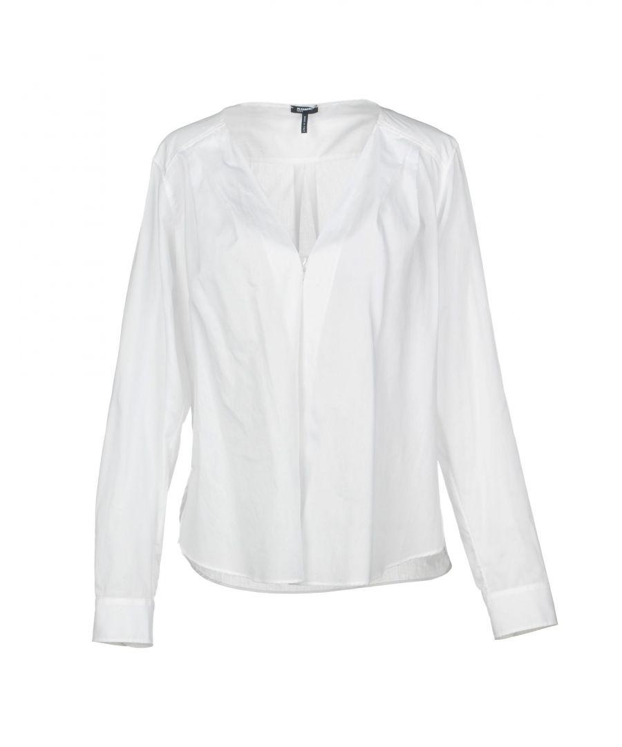 Image for Jil Sander Navy White Cotton Shirt