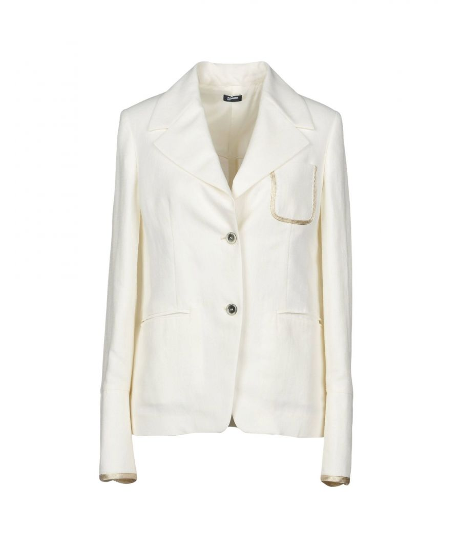 Image for Jil Sander Navy White Cupro Giacche