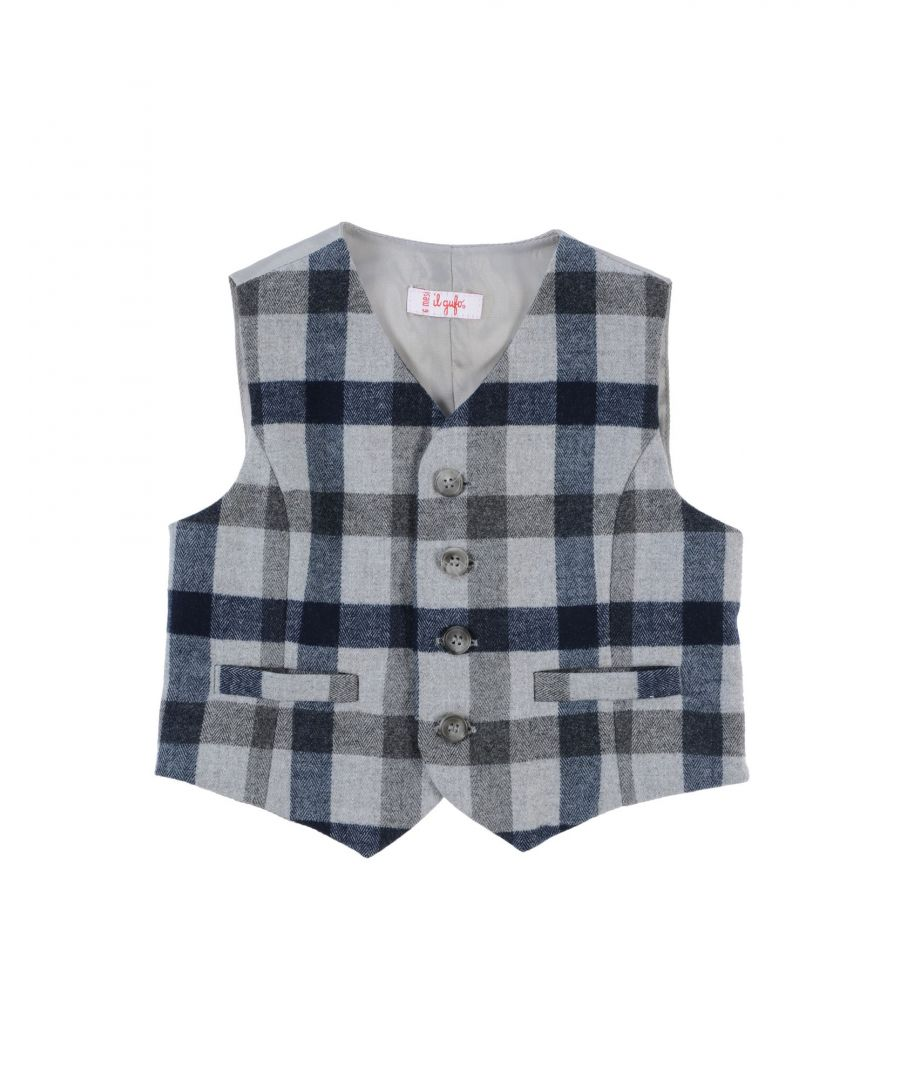 Image for SUITS AND JACKETS Il Gufo Grey Boy Polyester