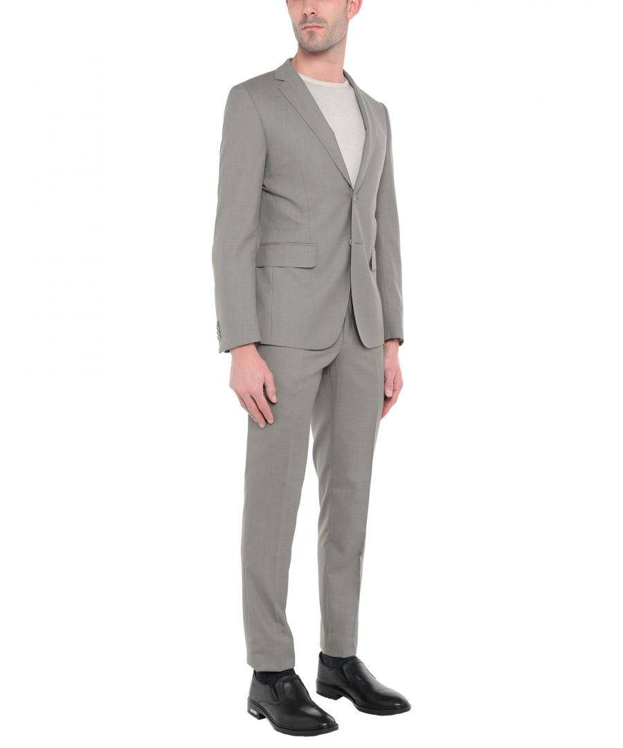 Image for Tru Trussardi Dove Grey Virgin Wool Single Breasted Suit