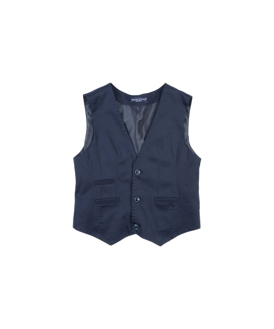Image for SUITS AND JACKETS Boy Manuell & Frank Dark blue Cotton