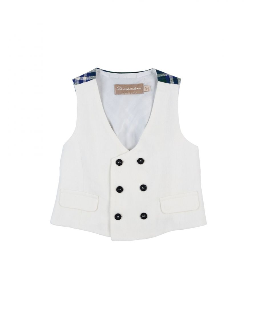 Image for SUITS AND JACKETS Boy La Stupenderia White Linen