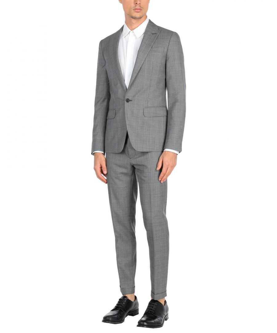 Image for Dsquared2 Grey Virgin Wool Suit