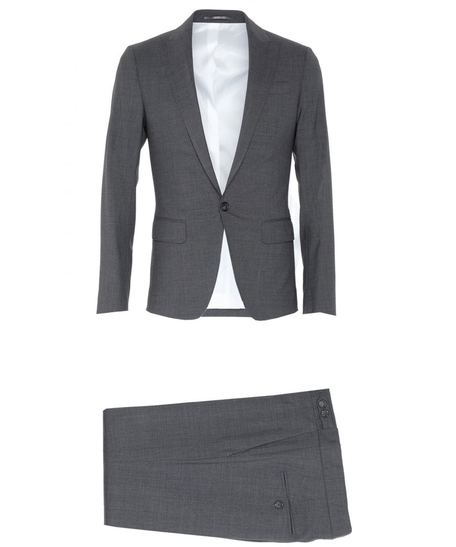 Image for Dsquared2 Lead Virgin Wool Single Breasted Suit