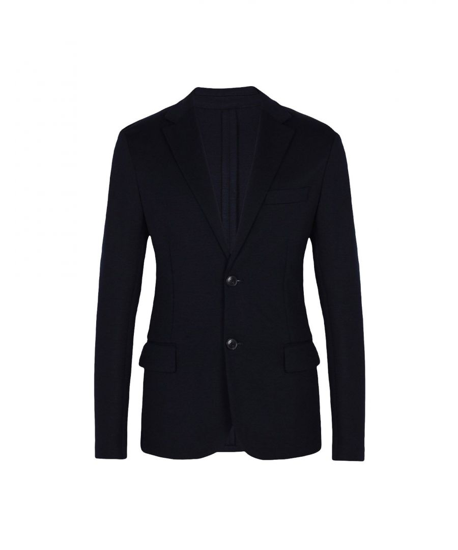 Image for Emporio Armani Dark Blue Single Breasted Jacket