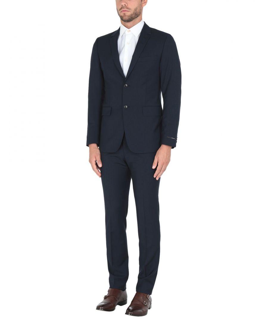 Image for Tiger Of Sweden Dark Blue Wool Single Breasted Suit