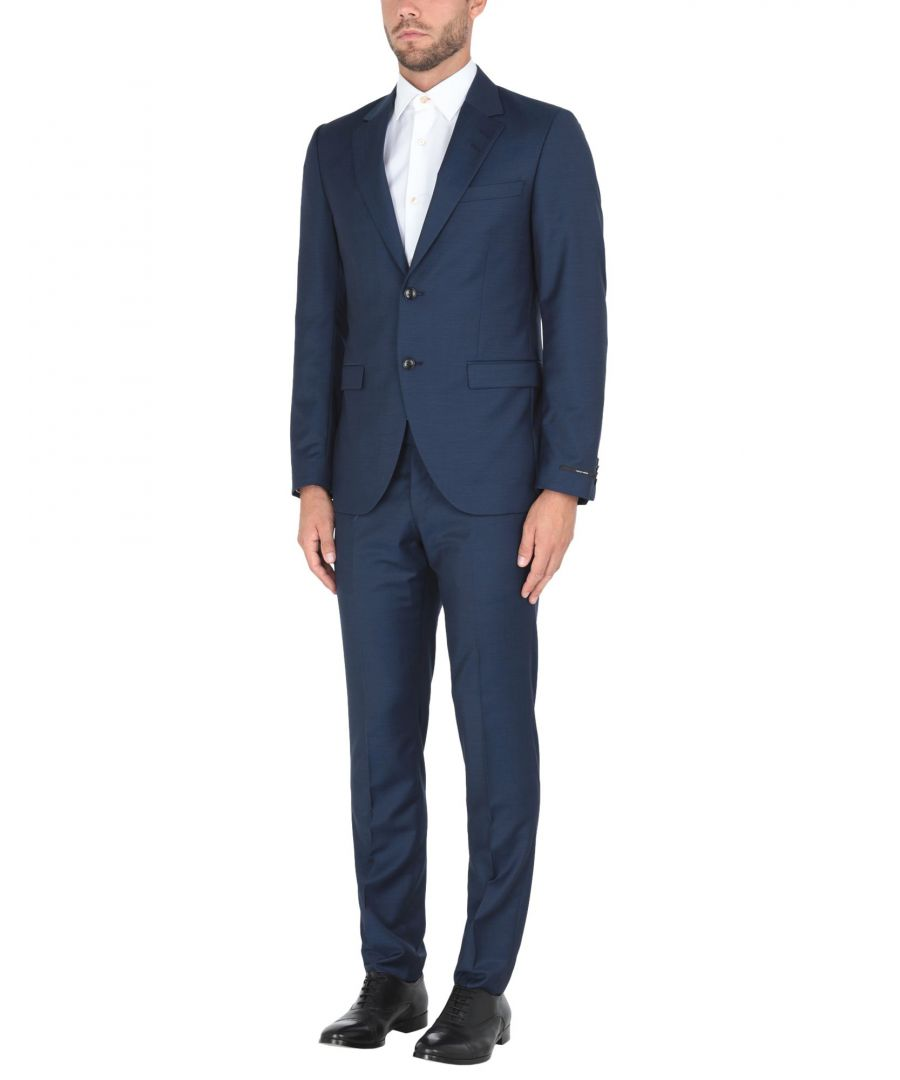 Image for Tiger Of Sweden Dark Blue Wool Single Breasted Suit