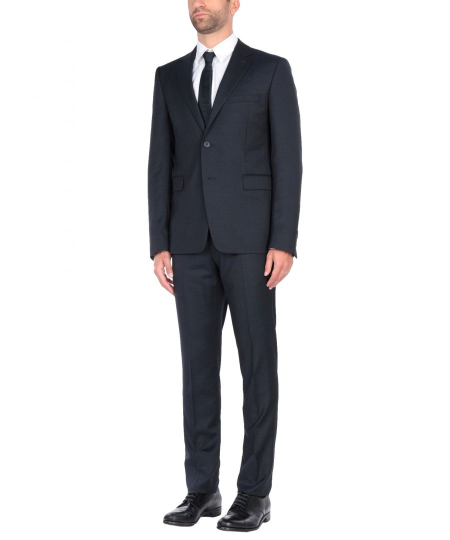 Image for Kenzo Dark Blue Single Breasted Suit