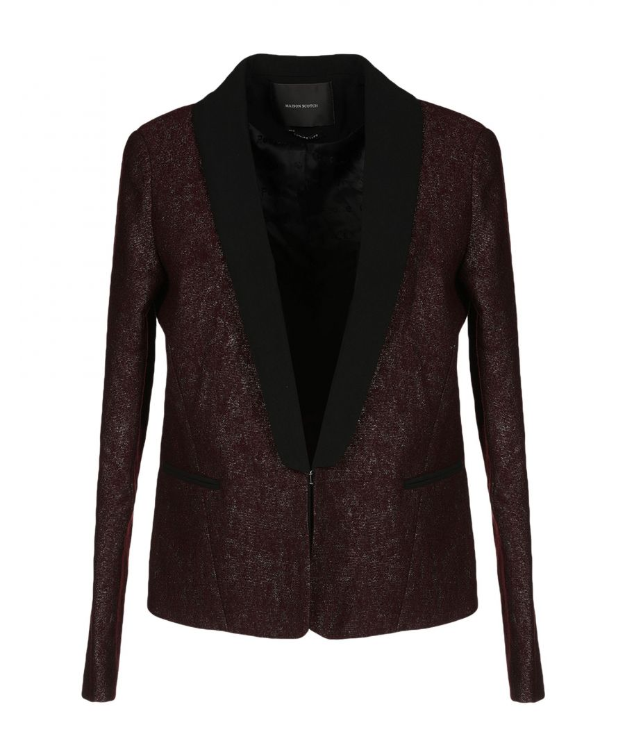 Image for SUITS AND JACKETS Woman Maison Scotch Maroon Polyester
