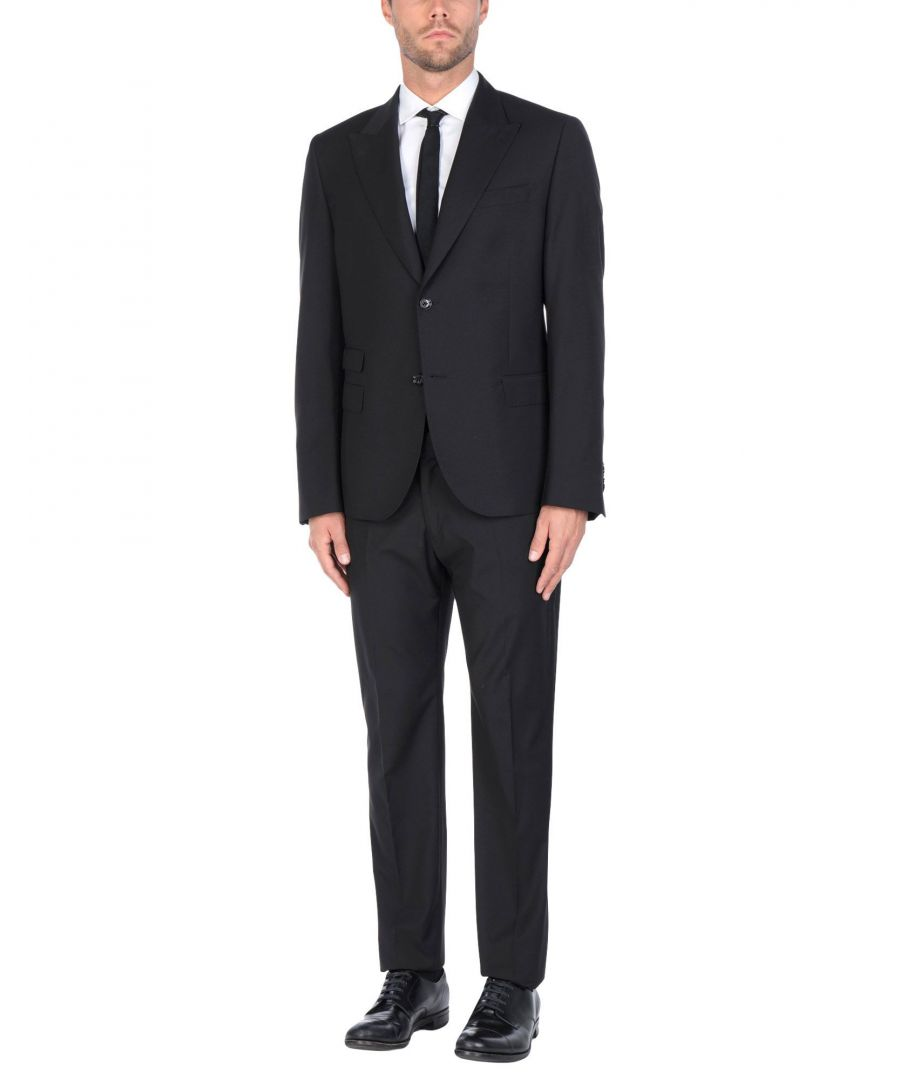 Image for Daniele Alessandrini Black Single Breasted Suit
