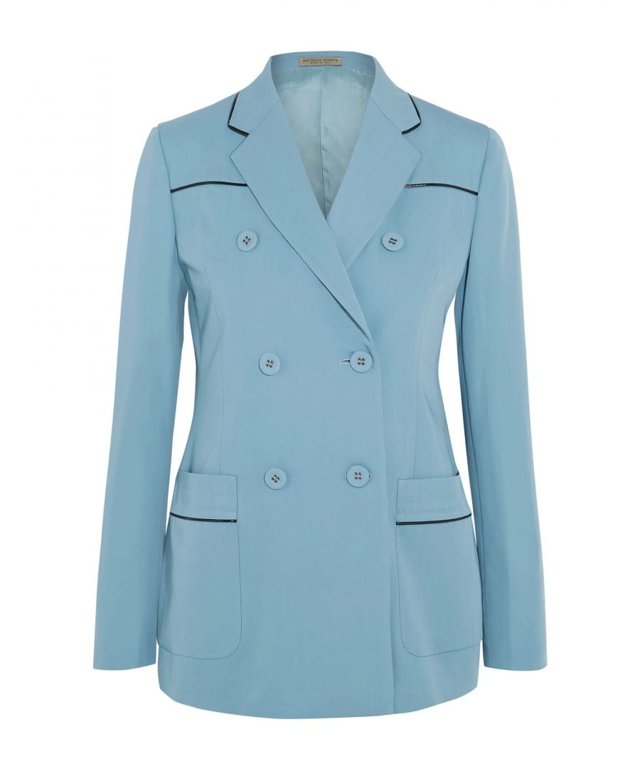 Image for Suits And Jackets Women's Bottega Veneta Sky Blue Wool