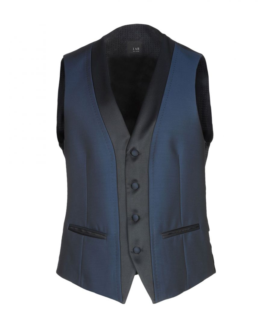 Image for SUITS AND JACKETS Man Lab. Pal Zileri Dark blue Wool