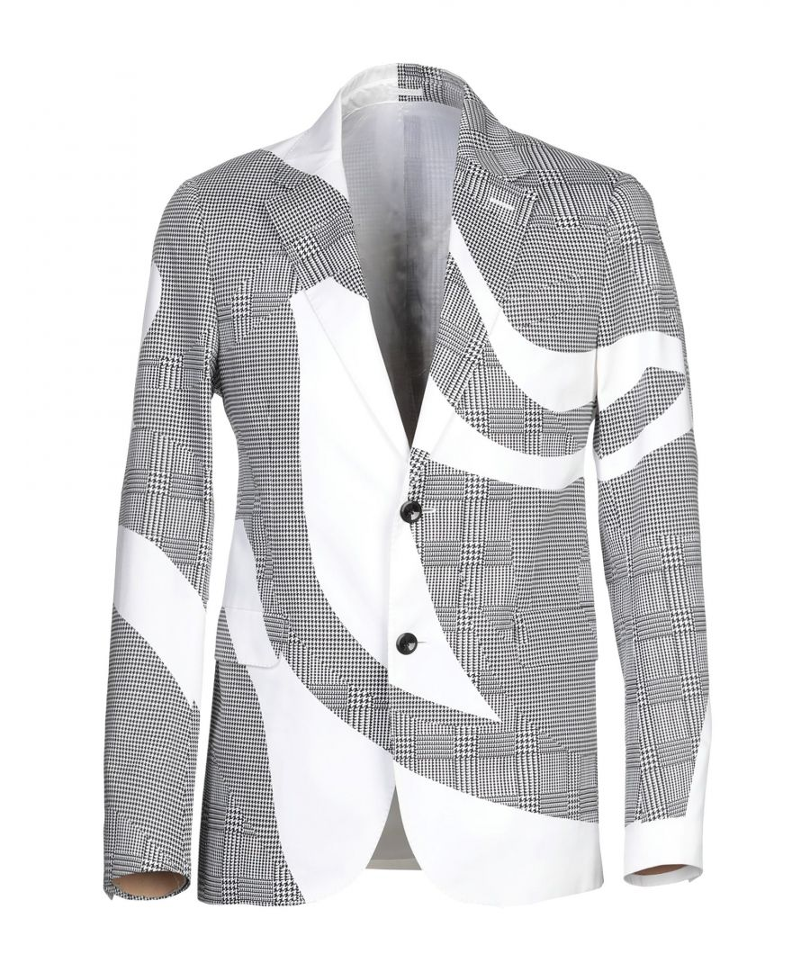 Image for Alexander McQueen White Cotton Single Breasted Jacket