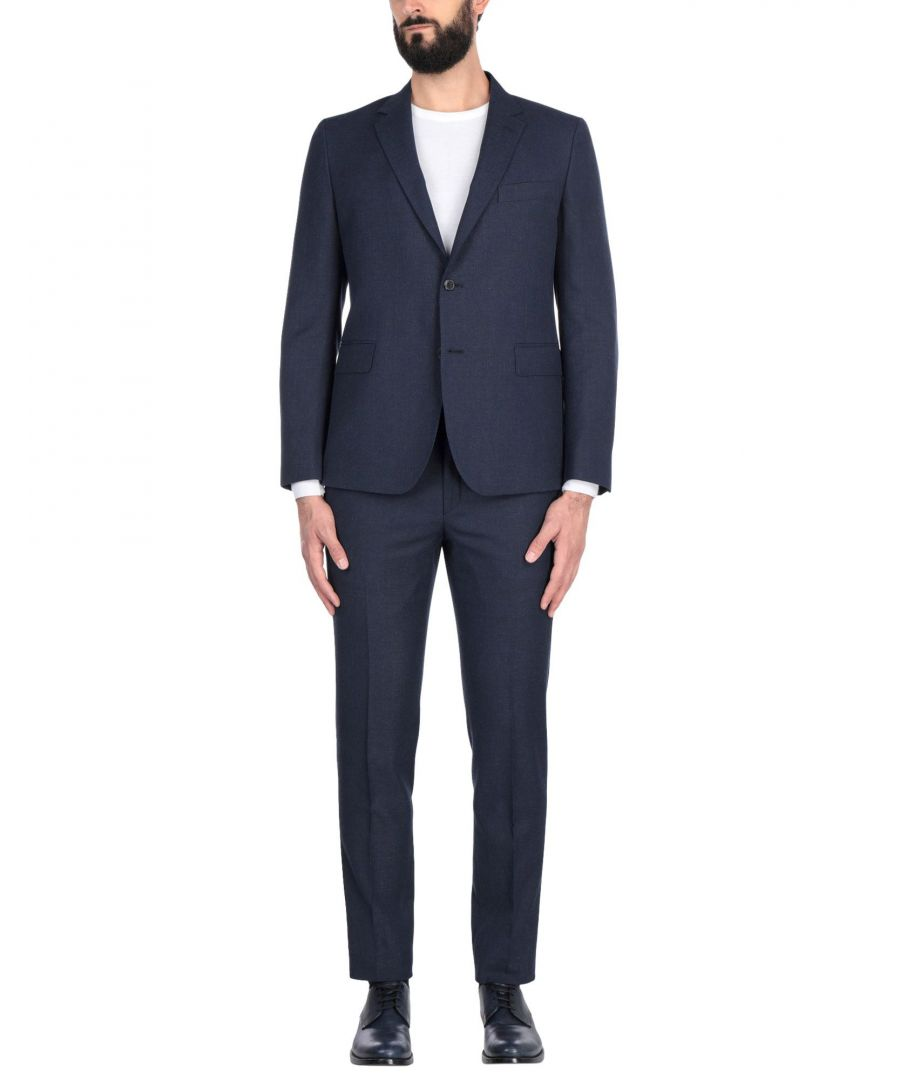 Image for SUITS AND JACKETS Brian Dales Blue Man Wool