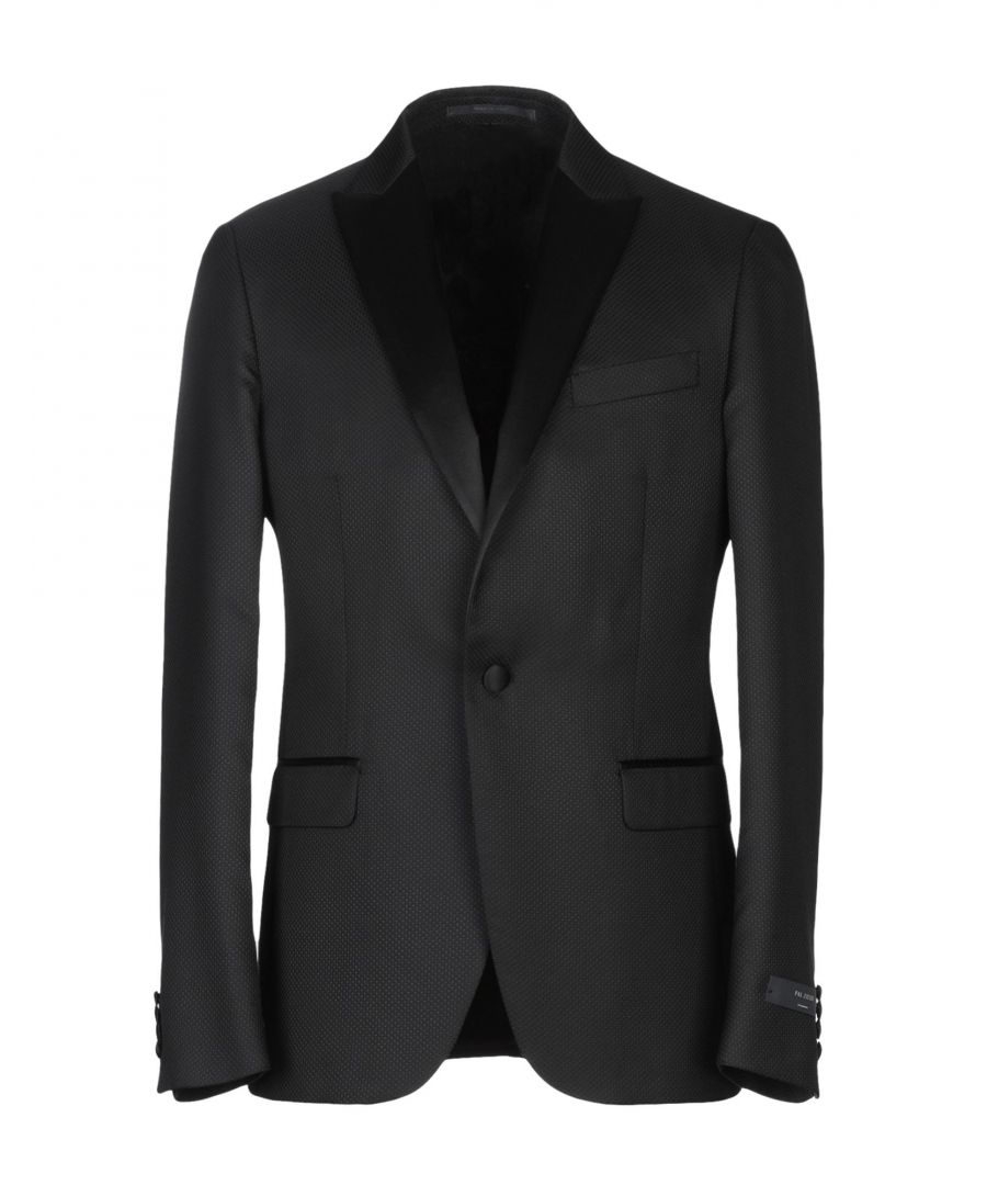 Image for Pal Zileri Cerimonia Black Single Breasted Jacket