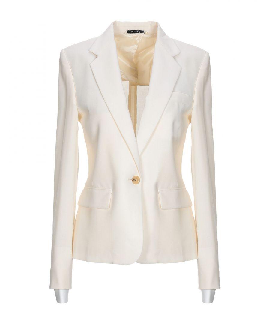 Image for Maison Margiela Ivory Virgin Wool Single Breasted Blazer