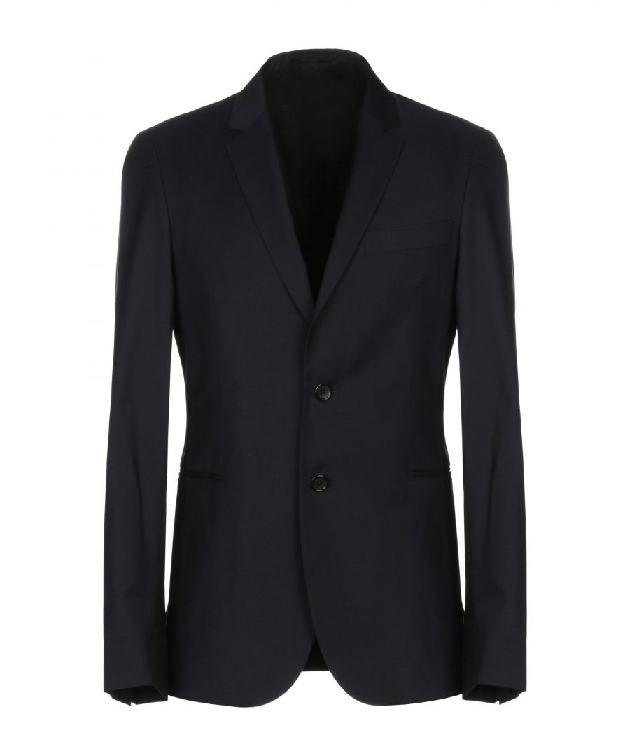 Image for SUITS AND JACKETS Ps Paul Smith Dark blue Man Wool