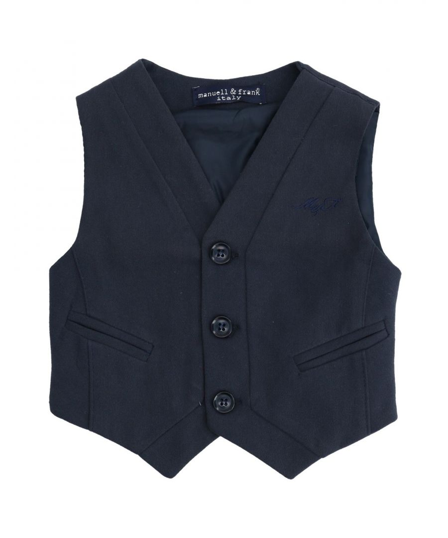Image for SUITS AND JACKETS Boy Manuell & Frank Dark blue Acrilyc