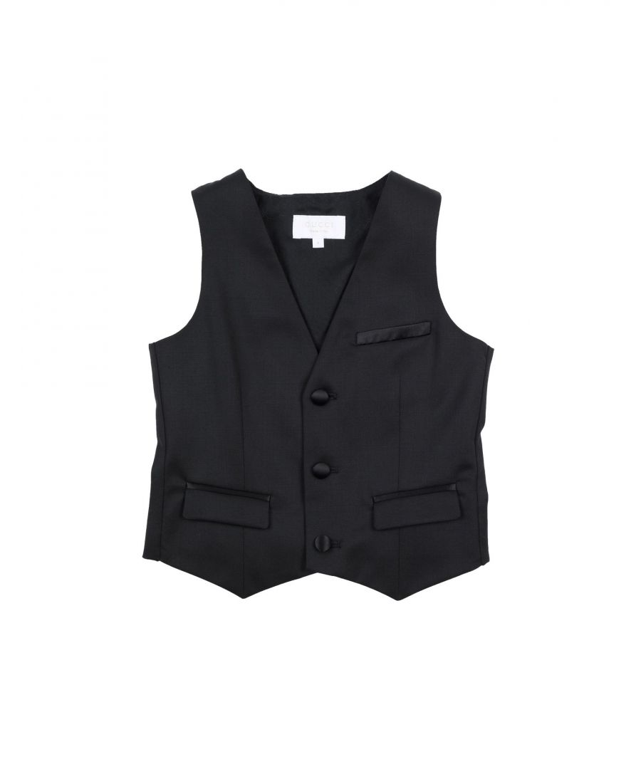 Image for SUITS AND JACKETS Boy Gucci Black Virgin Wool