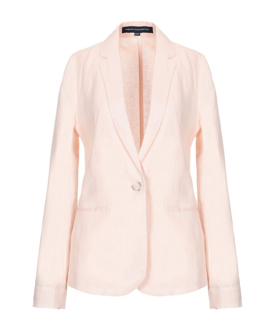 Image for French Connection Light Pink Single Breasted Blazer