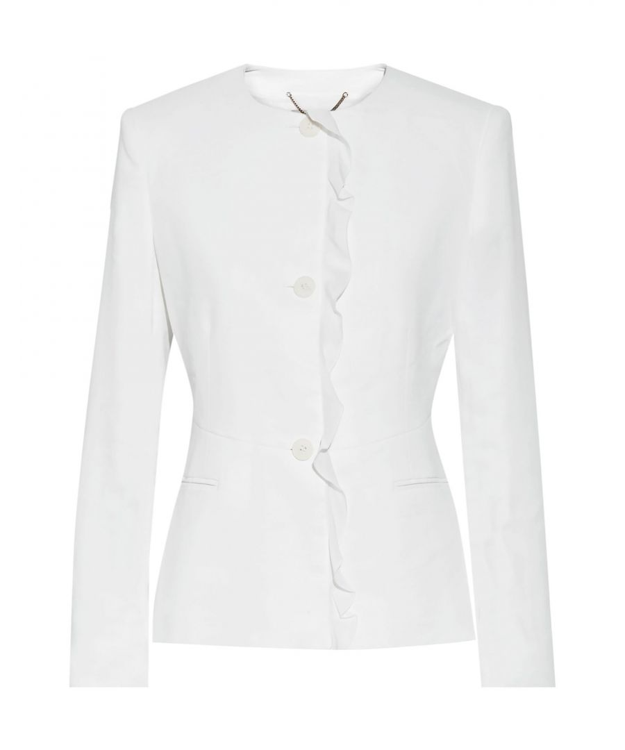 Image for SUITS AND JACKETS Stella Mccartney White Woman Rayon