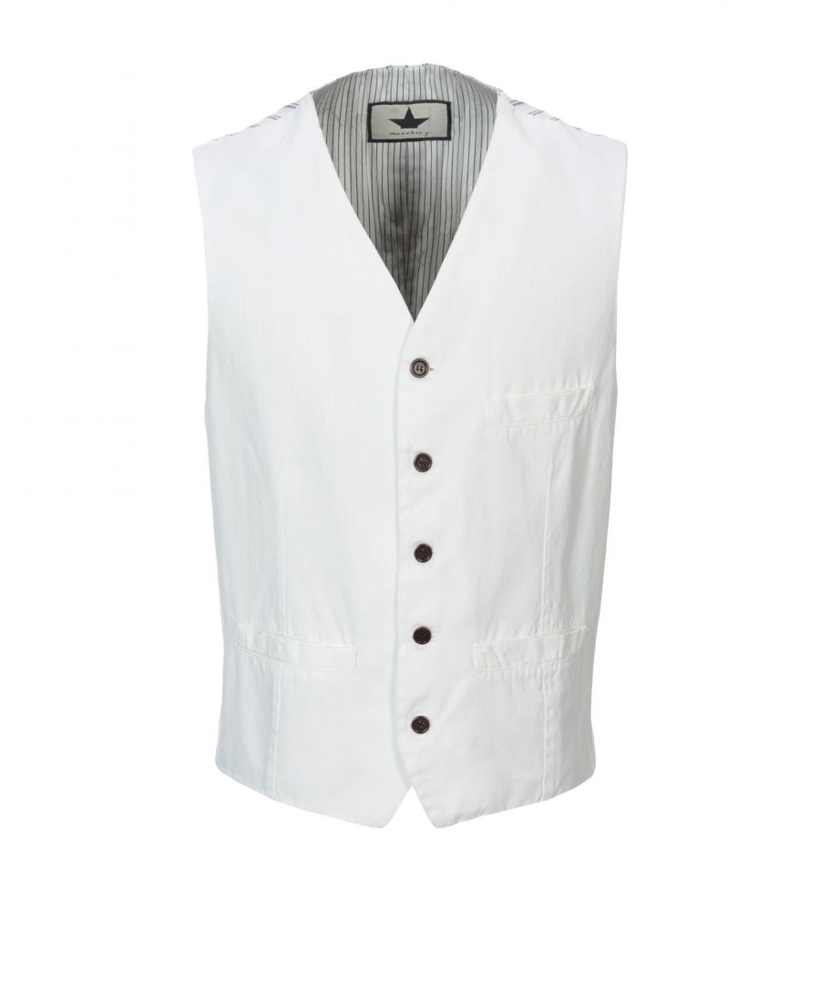 Image for SUITS AND JACKETS Man Macchia J White Cotton