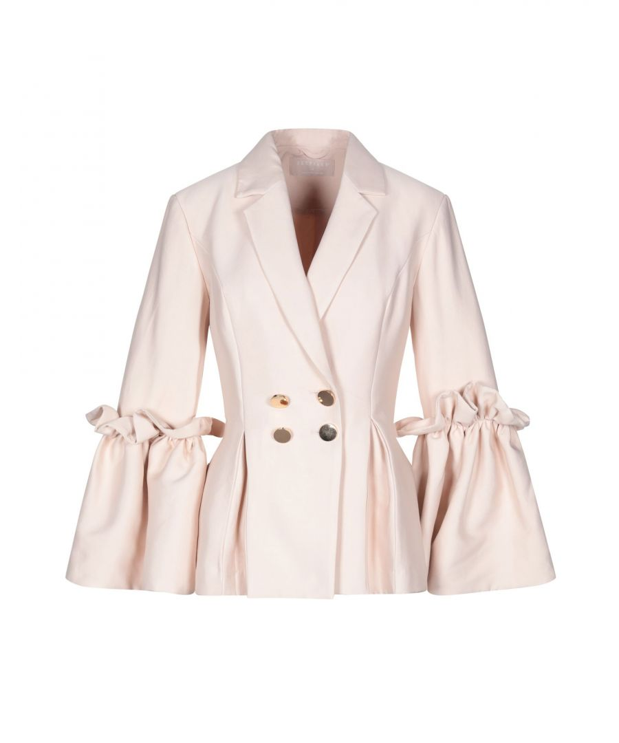 Image for Keepsake Light Pink Double Breasted Frill Jacket