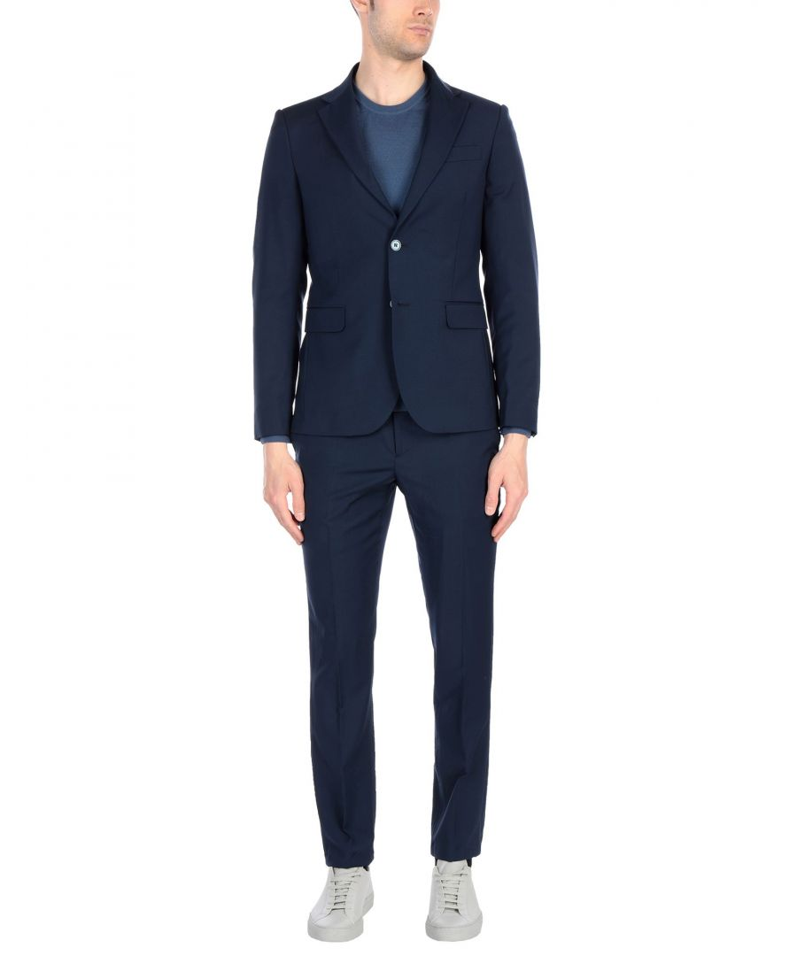 Image for Marciano Blue Wool Single Breasted Suit