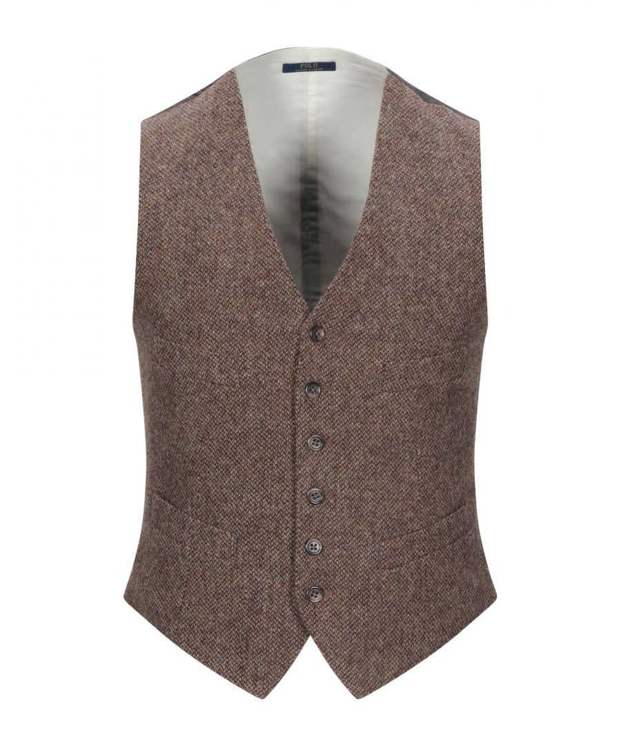 Image for SUITS AND JACKETS Man Polo Ralph Lauren Khaki Wool