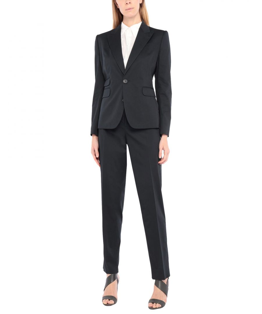 Image for Dsquared2 Dark Blue Cotton Single Breasted Suit