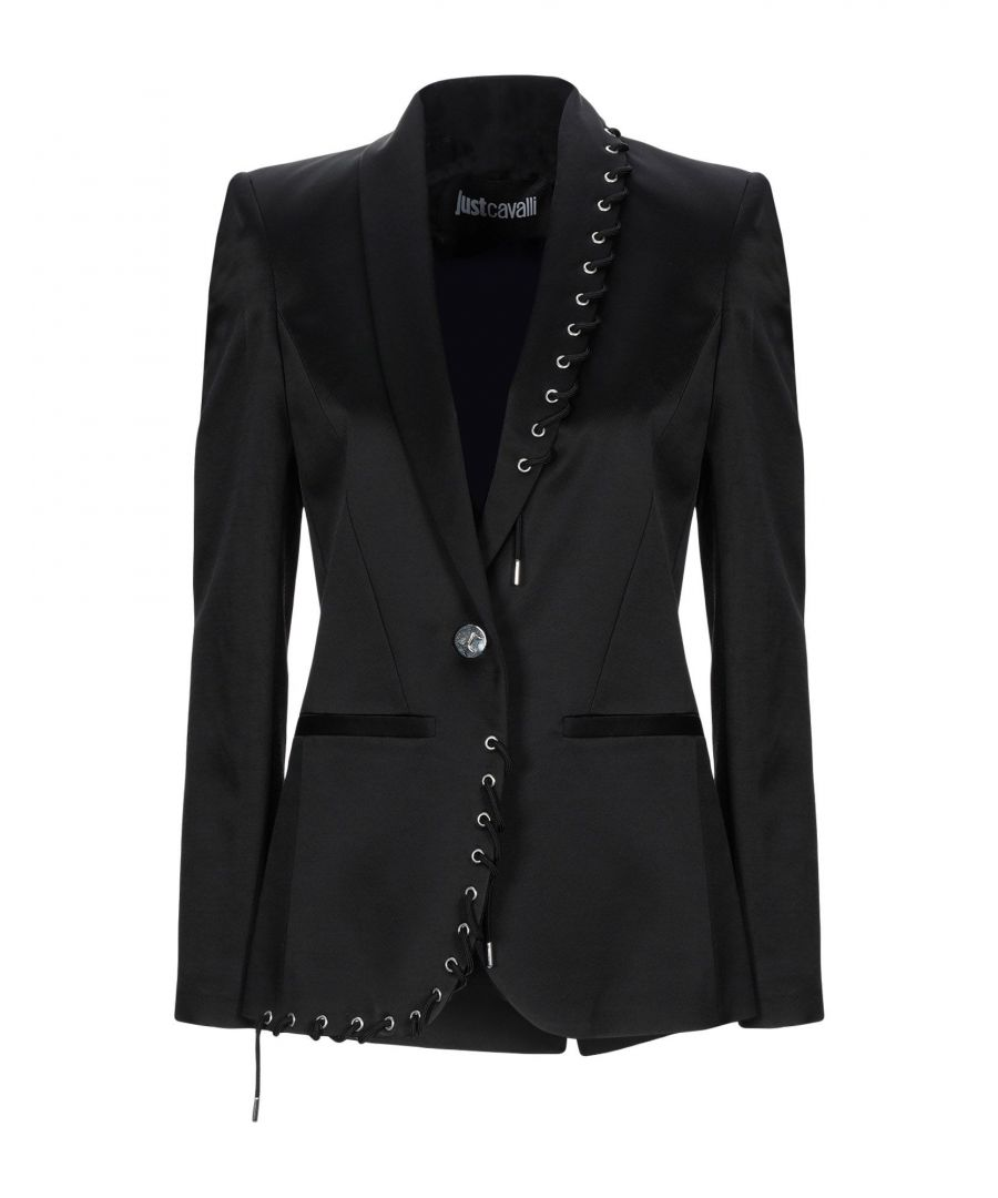Image for Just Cavalli Black Single Breasted Jacket