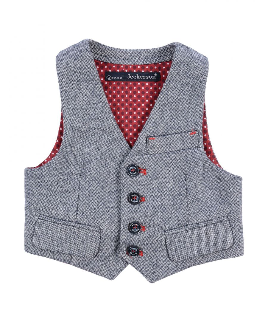 Image for SUITS AND JACKETS Boy Jeckerson Grey Cotton
