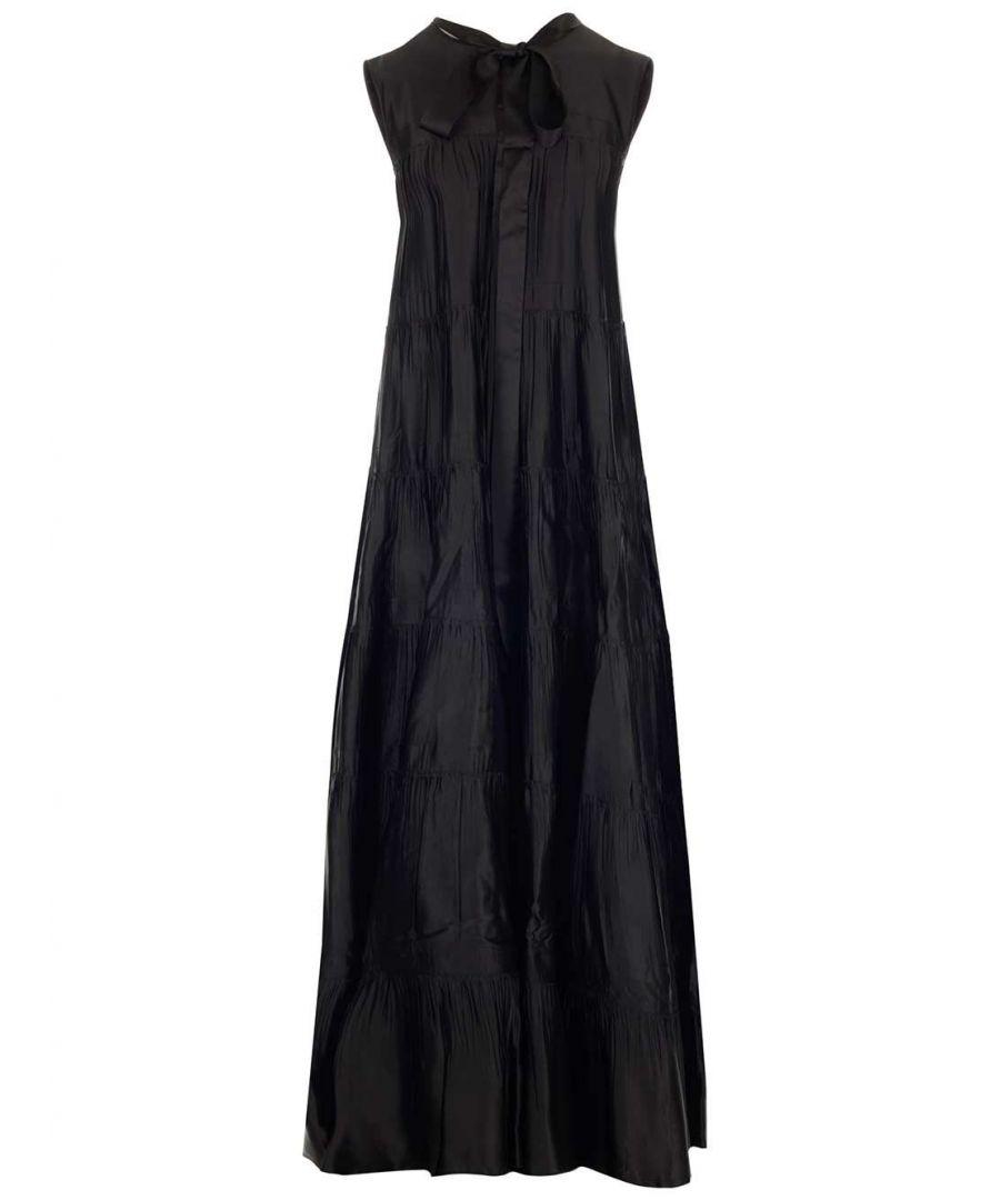 Image for N°21 WOMEN'S H26152669000 BLACK POLYESTER DRESS