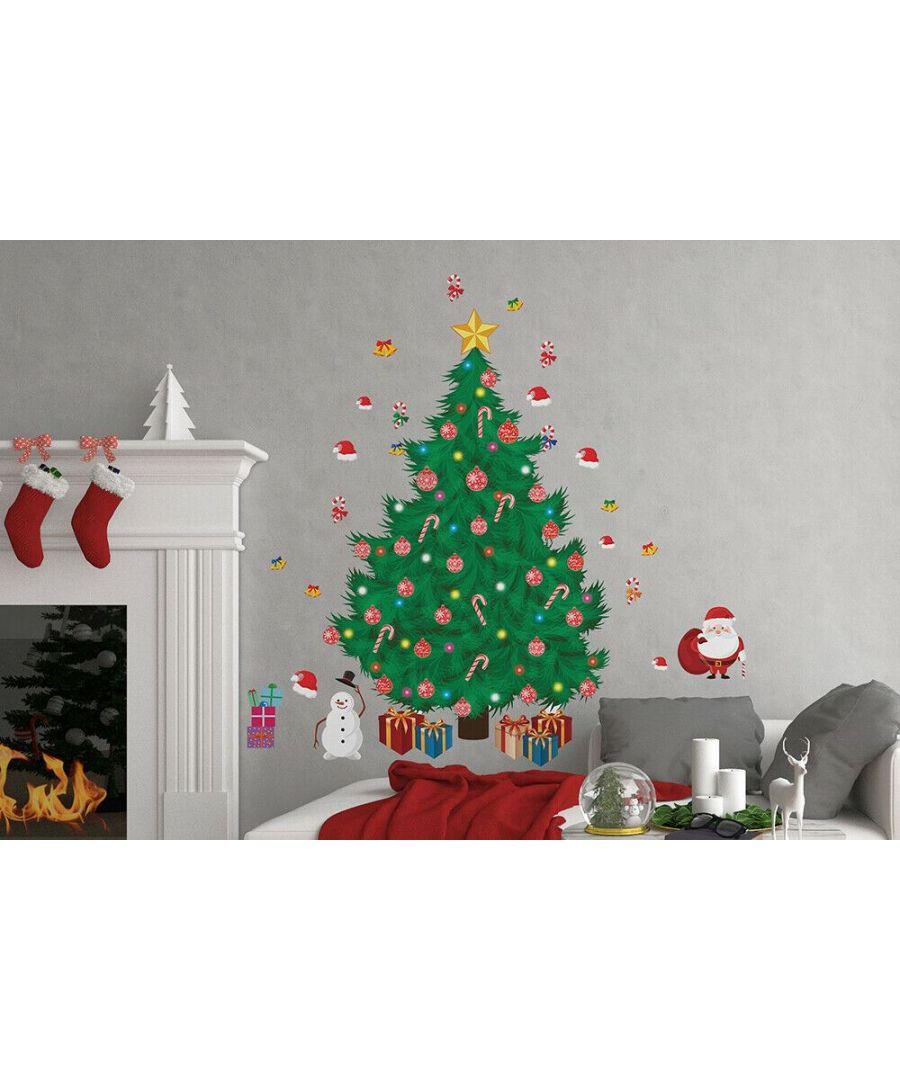 Image for WFXC12219 - COM -  WS9064 - Traditional Christmas Tree + WS3324 - Santa Christmas