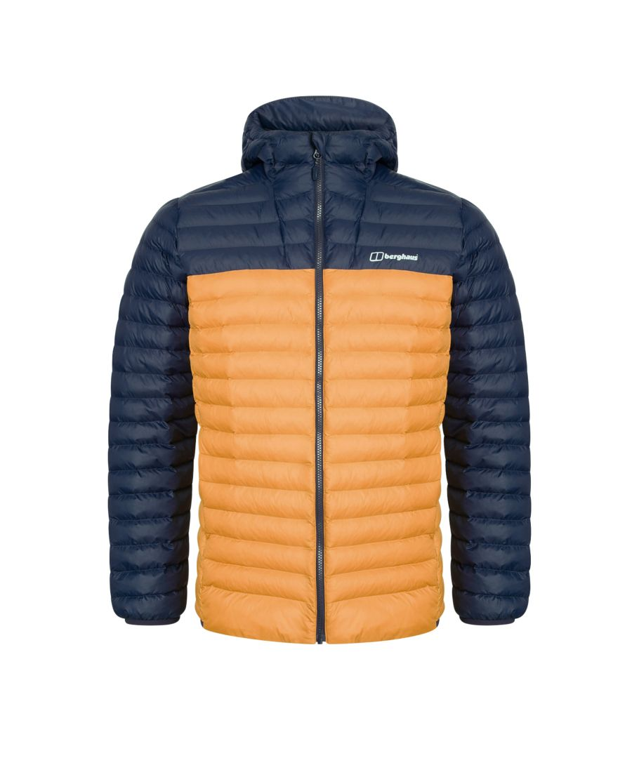 Image for Berghaus Vaskye Insulated Mens Jacket Blue/Orange - L