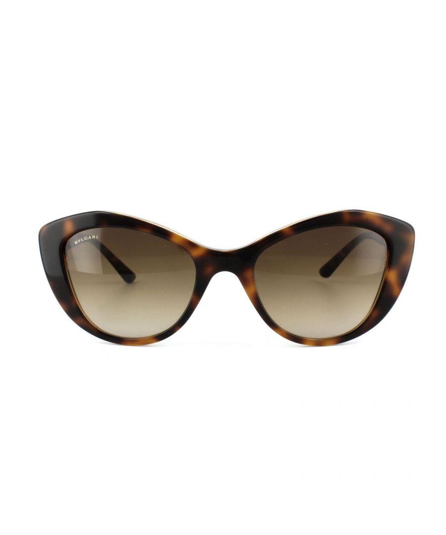 Image for Bvlgari Sunglasses 8168B 537913 Havana Brown Gradient