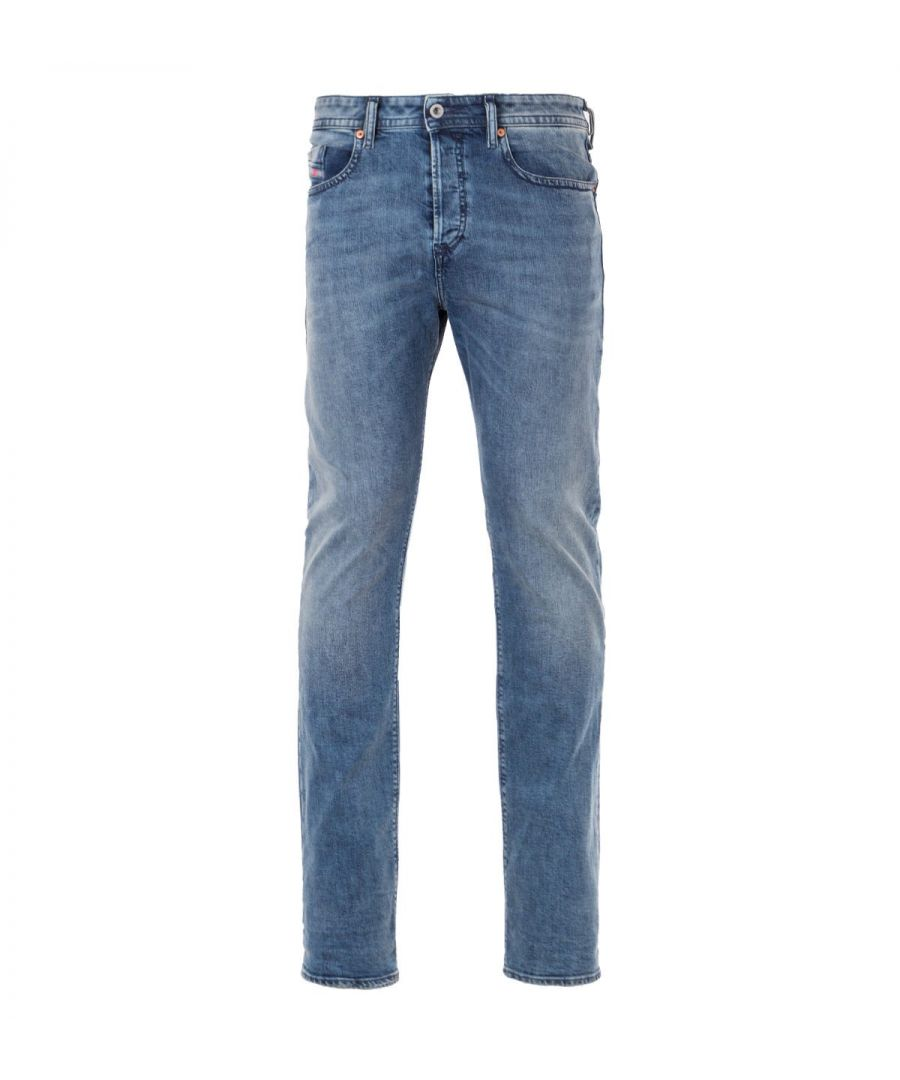 Image for Diesel Buster Lyocell Slim Tapered Fit Jeans - Vintage Blue