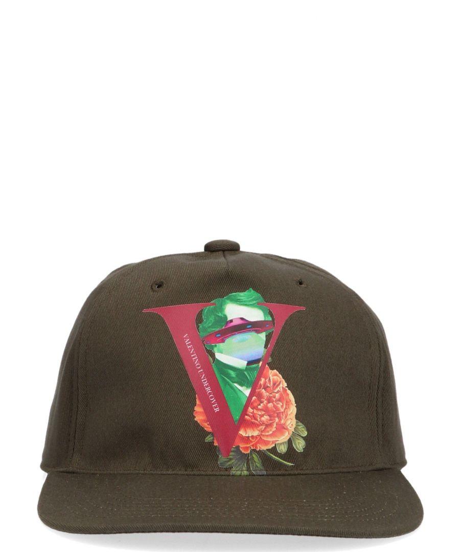 Image for VALENTINO GARAVANI MEN'S SY0HDA10MWKL90 BROWN COTTON HAT