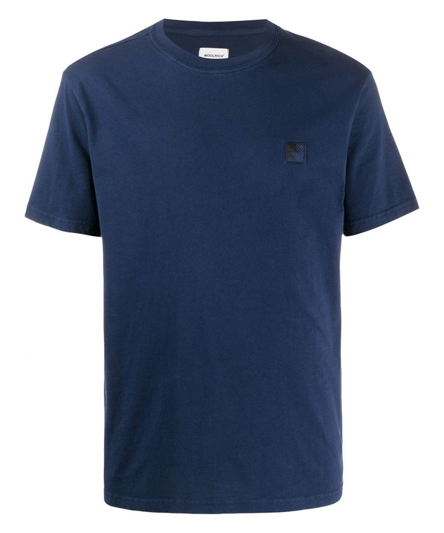 Image for WOOLRICH MEN'S WOTE0027MRUT21823496 BLUE COTTON T-SHIRT