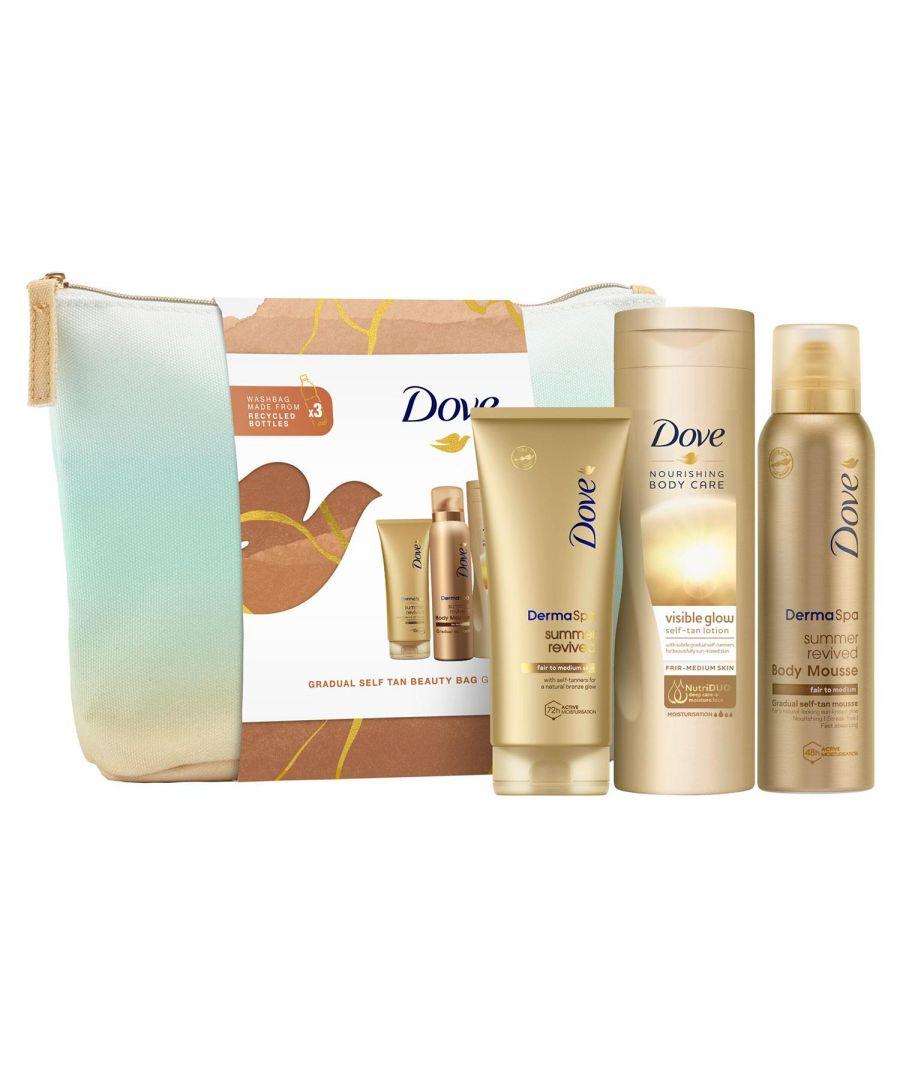 Image for Dove Gradual Self-Tan Beauty Bag