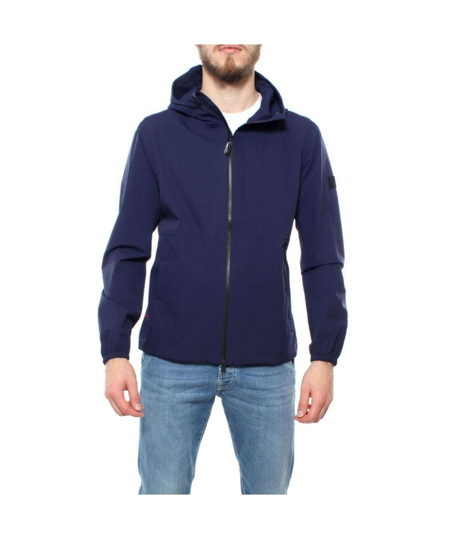 Image for WOOLRICH MEN'S WOOU0203MRUT20623496 BLUE POLYESTER OUTERWEAR JACKET