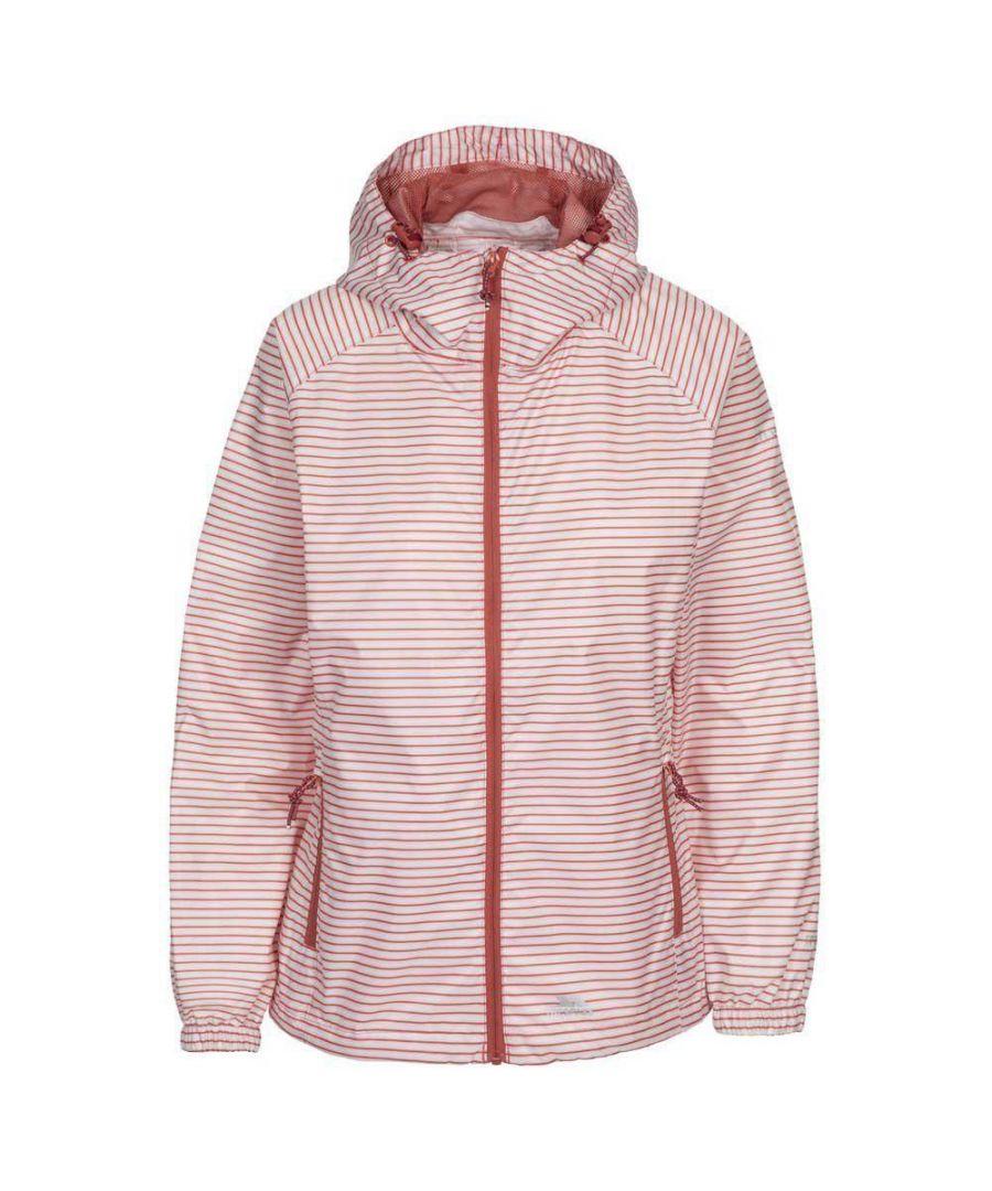 Image for Trespass Womens/Ladies Indulge Waterproof Jacket (Rhubarb Red)