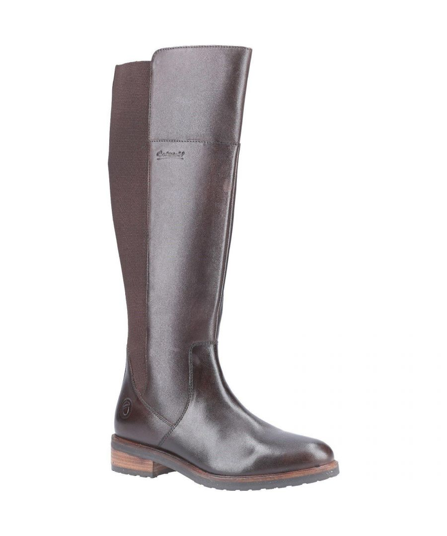 Image for Cotswold Womens/Ladies Montpellier Long Leather Boot (Brown)