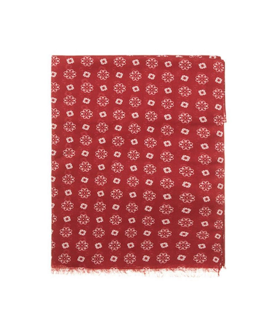 Image for Men's Hackett, Neat Scarf in Red