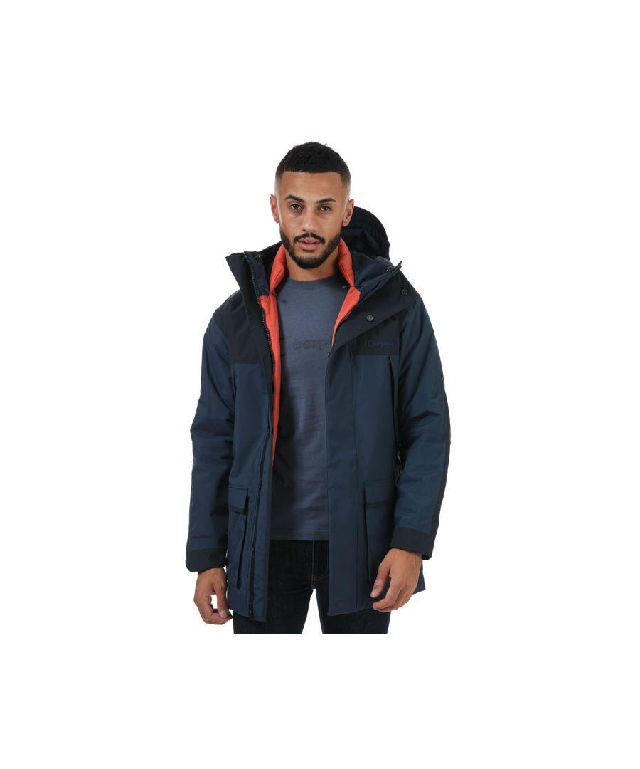Image for Men's Berghaus Breccan Parka Jacket in Blue