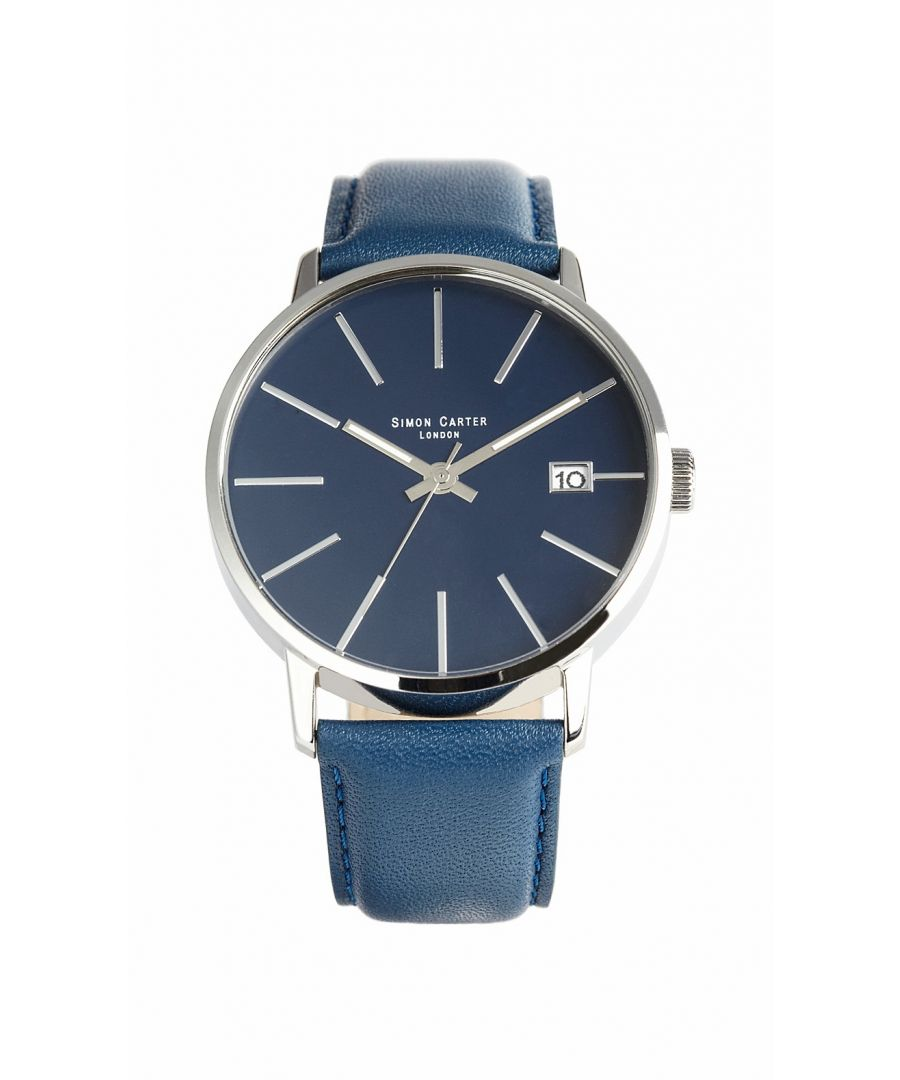 Image for Simon Carter WT1905 Watch Blue