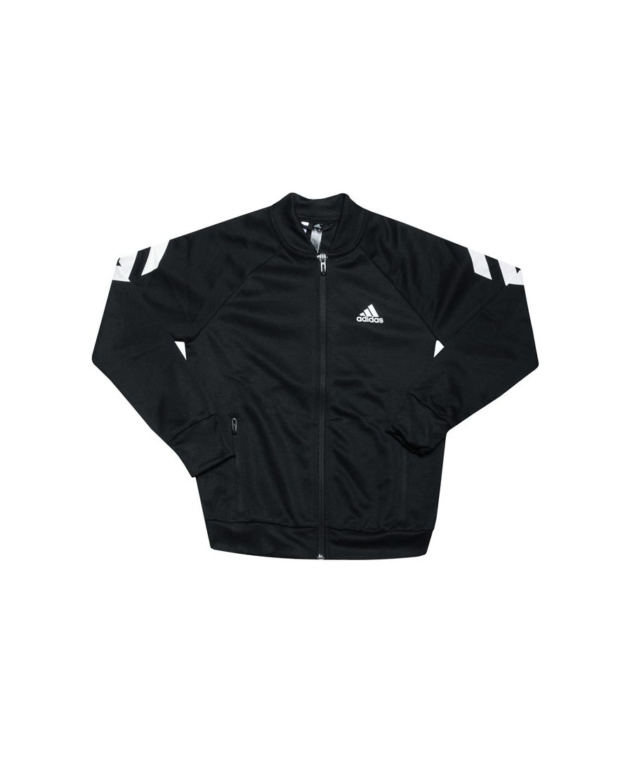 Image for Boys' adidas Junior XFG Tracksuit in Black-White