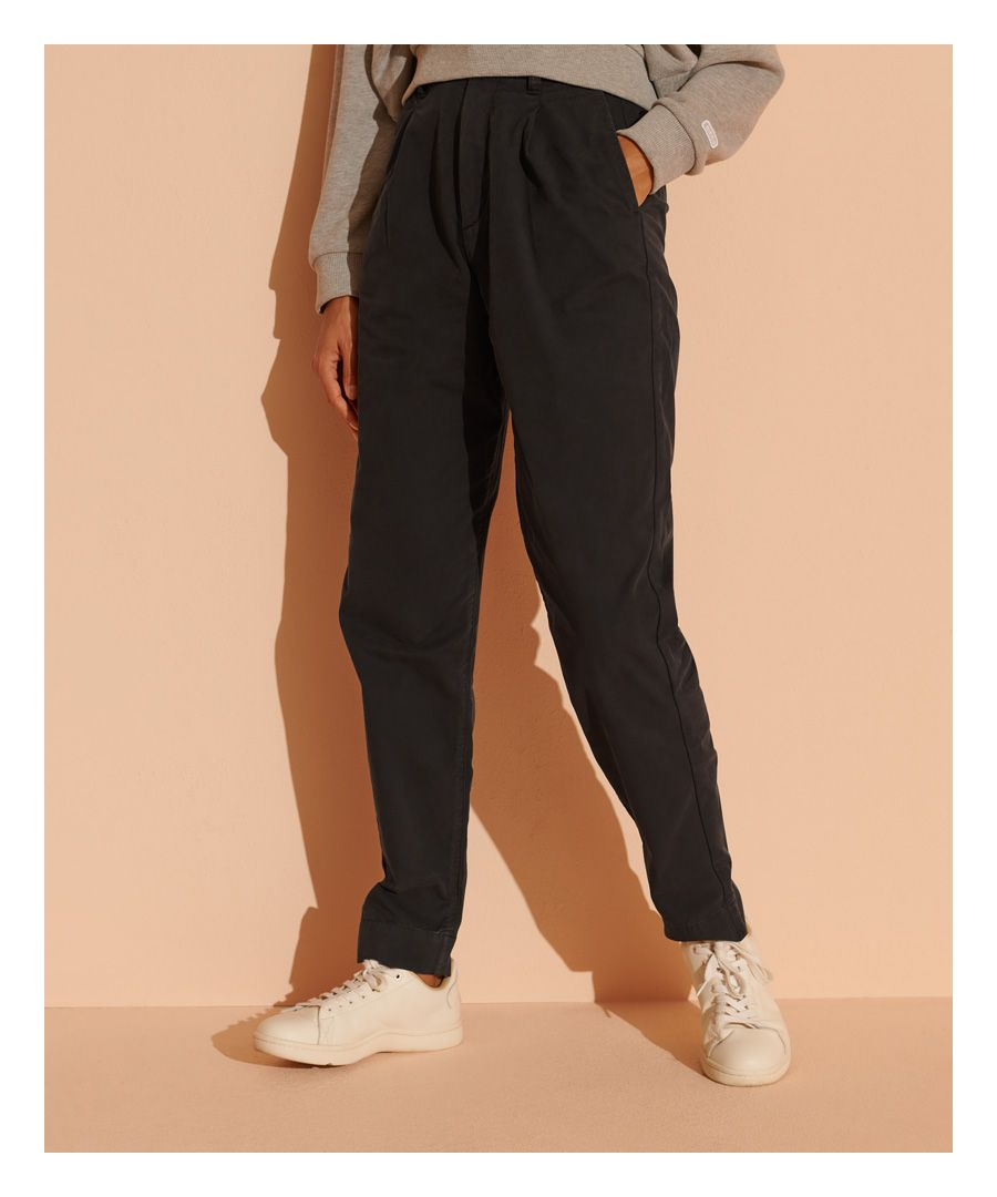 Image for Superdry Pleated Chinos